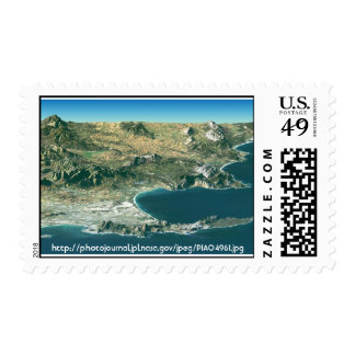 NASA - Cape Town, Suráfrica Timbre Postal