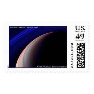 NASA - Cassini - Saturn Postage Stamps