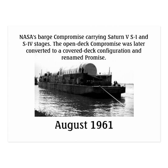 NASA Compromise Postcard