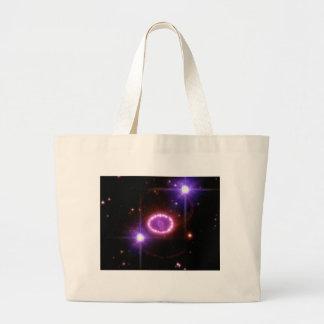 "NASA ""Cosmic Pearls"" Surrounding An Exploding Star Jumbo Tote Bag"