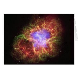 NASA - Crab Nebula Card