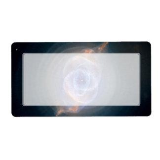 NASA de Hubble de la nebulosa del ojo de gato Etiqueta De Envío