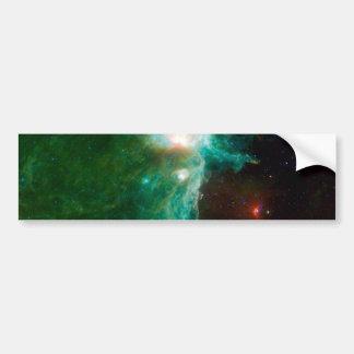 NASA de la nebulosa de la llama Etiqueta De Parachoque