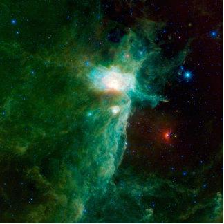 NASA de la nebulosa de la llama Esculturas Fotograficas