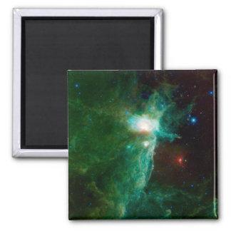 NASA de la nebulosa de la llama Iman De Frigorífico