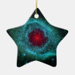 NASA de las nebulosas de la hélice de NASAs Adorno Navideño De Cerámica En Forma De Estrella