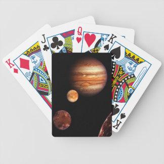 NASA de los satélites galileos de Júpiter Baraja Cartas De Poker