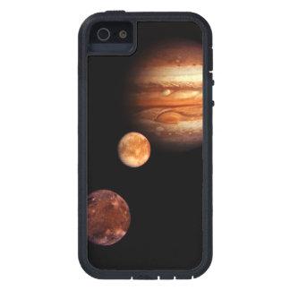 NASA de los satélites galileos de Júpiter iPhone 5 Funda