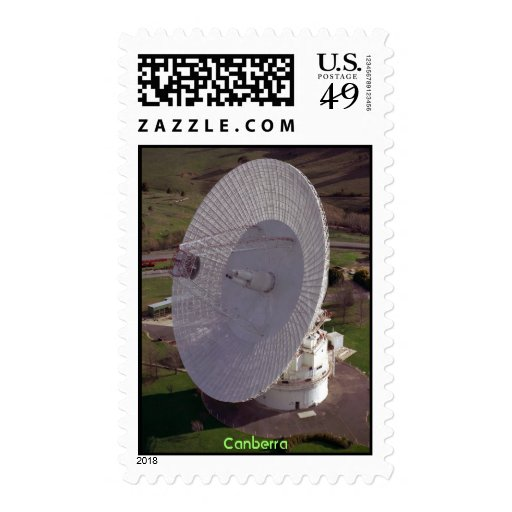 NASA Deep Space Communications - Canberra Postage