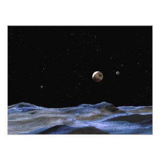 NASA del arte del espacio de Plutón Foto