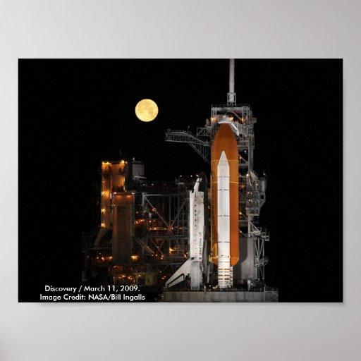 NASA/descubrimiento/11 de marzo de 2009 Impresiones