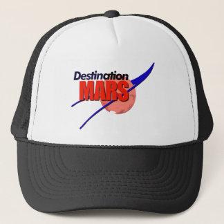 NASA Destination Mars Logo   Trucker Hat