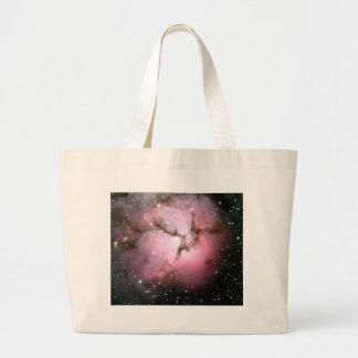 NASA Dusty Pink stars SSC2005 Large Tote Bag