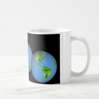 NASA / Earth Globe Coffee Mugs
