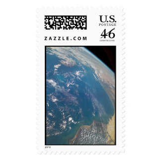 NASA Earth Limb taken by Space Shuttle Columbia Postage Stamp
