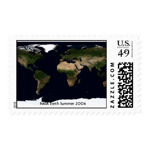 NASA Earth Summer 2004 Postage Stamp