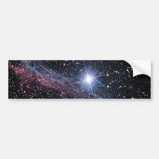 NASA ESA Veil nebula Bumper Sticker