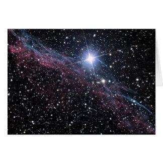 NASA ESA Veil nebula Card