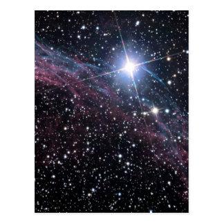 NASA ESA Veil nebula Postcard