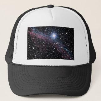 NASA ESA Veil nebula Trucker Hat