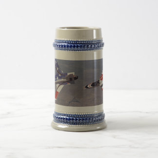 nasa experimental X-29 Beer Stein
