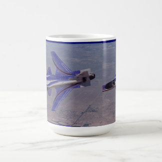 nasa experimental X-29 Coffee Mug