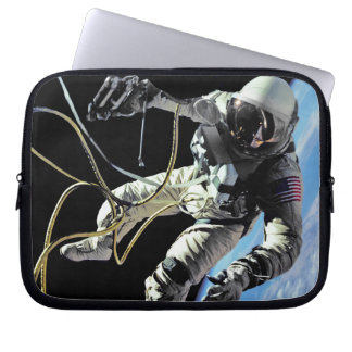 NASA First American Astronaut Spacewalk Photo Laptop Sleeve