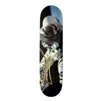 NASA First American Astronaut Spacewalk Photo Skateboard