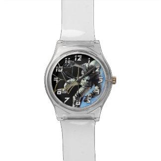 NASA First American Astronaut Spacewalk Photo Wrist Watch