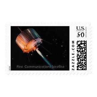 NASA - First Communications Satellite Postage