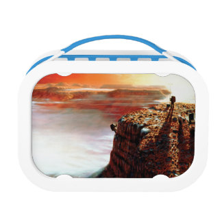 NASA First Trip To Planet Mars Artist Concept Lunch Box