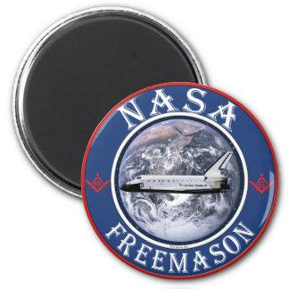 NASA  Freemason Magnet