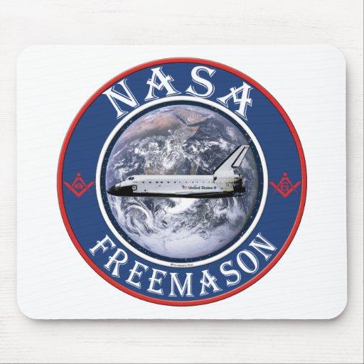 NASA  Freemason Mouse Pad