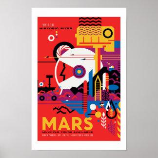 NASA Future Travel Poster - Mars