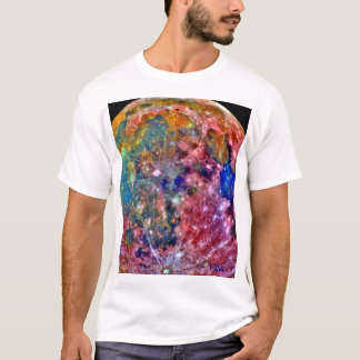 NASA - Galileo - Moon - False Color T-Shirt