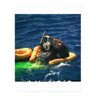 NASA Gemini-Titan 11 Recovery Postcard