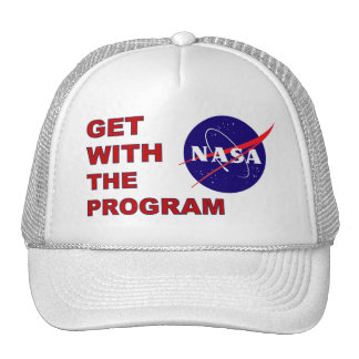 NASA Get With The Program Trucker Hat