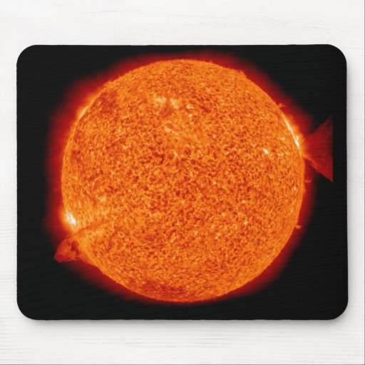 NASA Goddard Photo of Double Solar Flare Mouse Pad