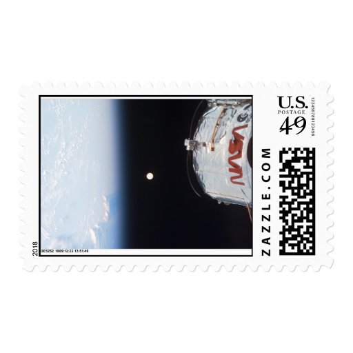 NASA Hubble - Earth - Full Moon Postage Stamps