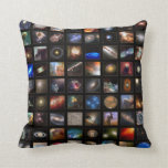 NASA Hubble photos from space Throw Pillows