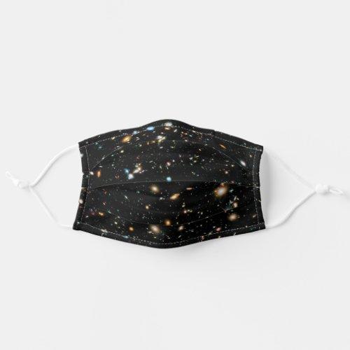 NASA Hubble Ultra Deep Field Galaxies Adult Cloth Face Mask