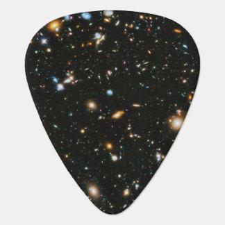 NASA Hubble Ultra Deep Field Galaxies Guitar Pick