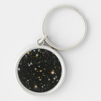 NASA Hubble Ultra Deep Field Galaxies Keychain