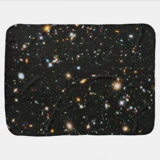 NASA Hubble Ultra Deep Field Galaxies Stroller Blanket