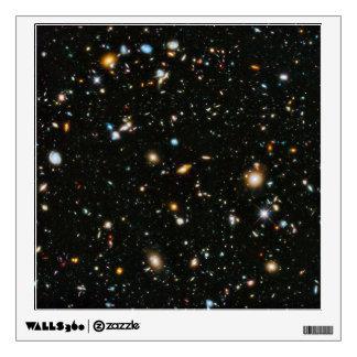 NASA Hubble Ultra Deep Field Galaxies Wall Sticker