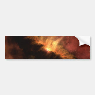 NASA infrared Planet Forming Disk Bumper Sticker