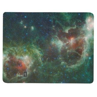 NASA infrarroja del mosaico de las nebulosas del c Cuadernos