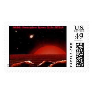 NASA : Intergalactic Artwork Postage Stamps