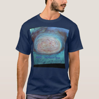 NASA Jupiter Spot in False Color T-Shirt