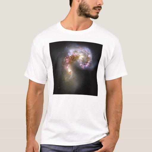 NASA - Las galaxias NGC4038-4039 de las antenas Playera